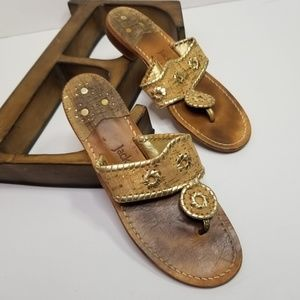 Jack Rogers Napa Valley Cork & Leather Sandals 8
